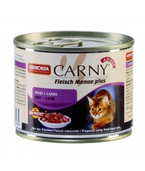 Консервы для кошек с говядиной и ягненком (Carny Adult) 83553