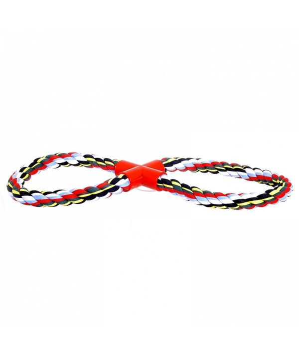 """Игрушка для собак """"2 кольца из каната"""", хлопок (Cotton flossy toy 8 – shape) 140755"""