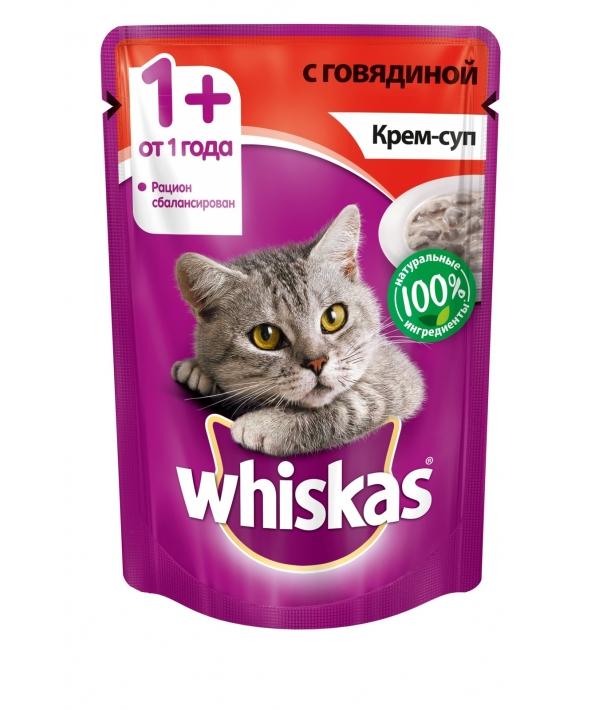 Паучи для кошек Крем – суп с говядиной 10151091