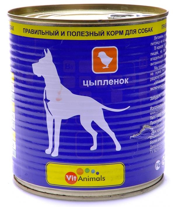 Консервы для собак Цыпленок (53883)