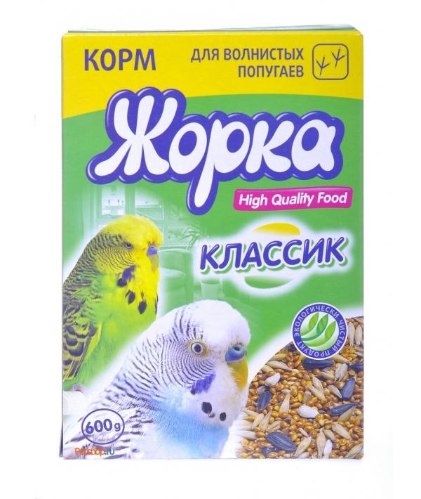 HQF корм для волнистых попугаев классик