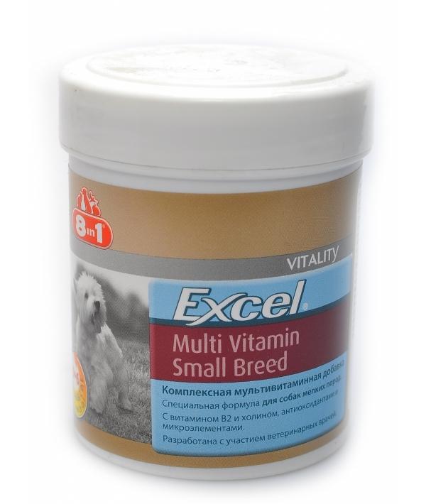 Эксель Мультивитамины для собак мелких пород (70 таб.), Excel Multi Vitamin Small Breed109372