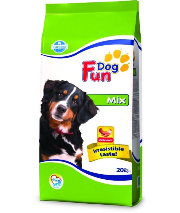Fun Dog Mix Сухой корм для взрослых собак (мясное ассорти) 9200