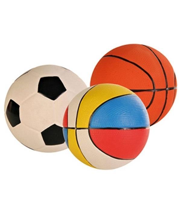 Игрушка д/собак 1 латексный мячик – 3501