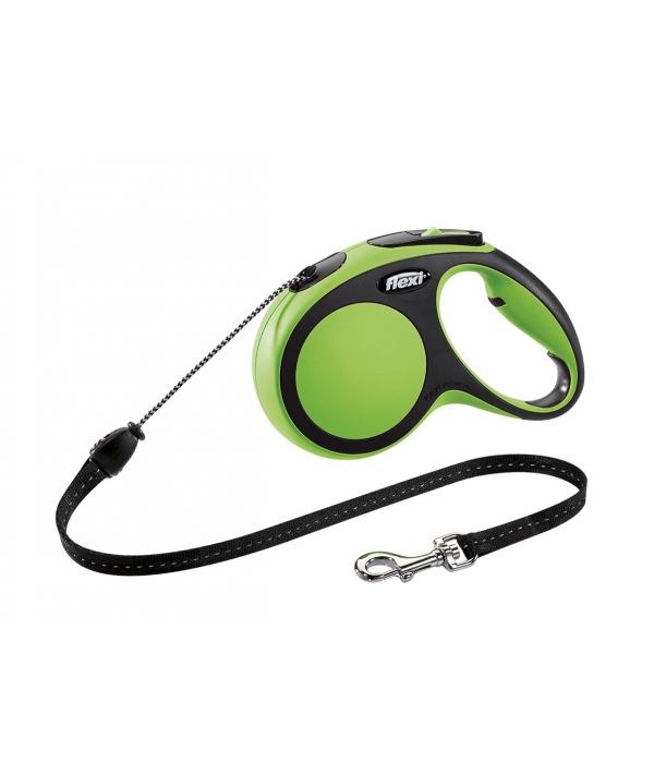 Рулетка – трос для собак до 12кг, 5м, зеленая (New Comfort S Cord 5 m, green)