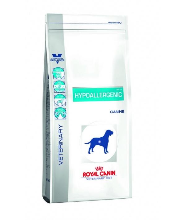 Для собак с пищевой аллергией(Hypoallergenic DR21) 602070/ 602117