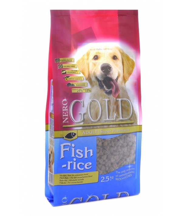 Для Взрослых собак: Рыбный коктейль, рис и овощи (Fish&Rice 24/13)