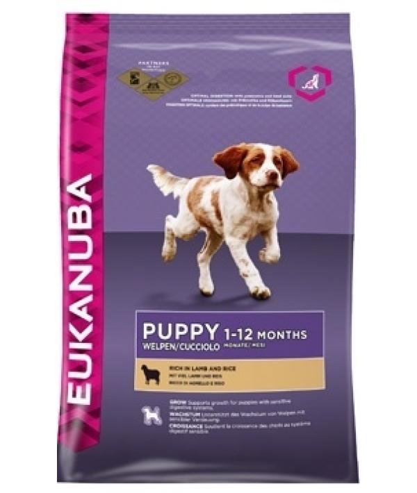 Для щенков с ягненком и рисом(Puppy&JuniorLamb&Rice) 10160210/10127001