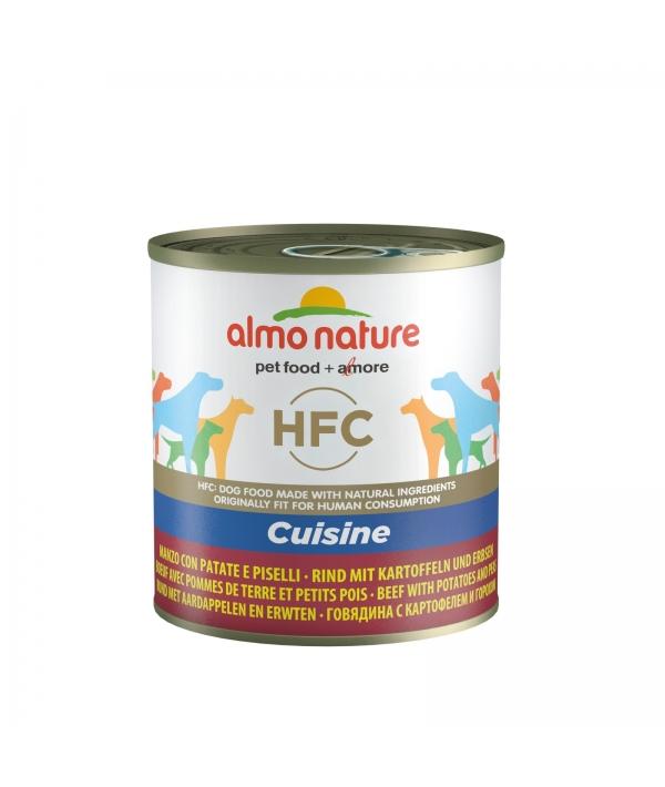 """Консервы для собак """"Говядина с картофелем и горошком по – домашнему"""" (HFC Home Made – Beef with Potatoes and Peas) 5560"""