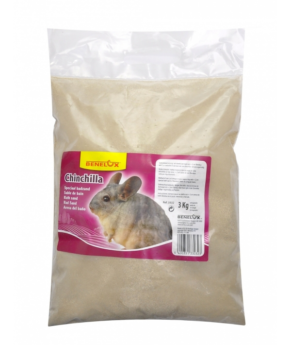 Песок для шиншилл (CHINCHILLA SPECIAL BATHING SAND 12.5 KG)