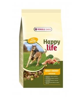 Для активных собак с курицей (Happy life Adult Chicken Energy) 431102