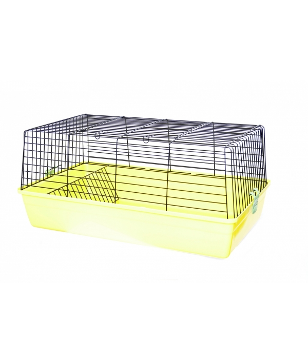 Клетка для грызунов 85 * 49 * 38 см (Rodent cage cavia 4 coloured funny) 35168