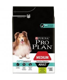 Для взрослых собак средних пород с чувствительным пищеварением с ягненком (Adult Sensitive Digestion Lamb & Rice) 12150339/12278098