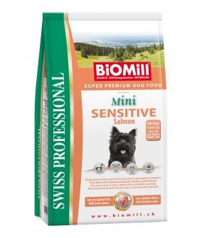 SWISS Для взрослых собак малых пород с лососем и рисом (Mini sensitive Salmon&Rice)(868001)