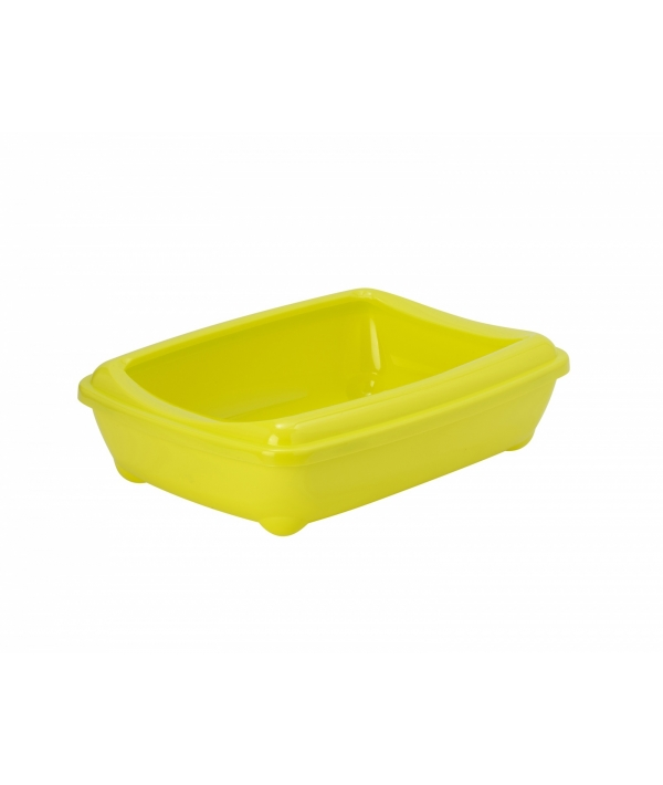 Туалет – лоток большой с рамкой artist large + rim, 50х37х13, лимонно – желтый (arist – o – tray + rim 50cm large) MOD – C192 – 329 – B.