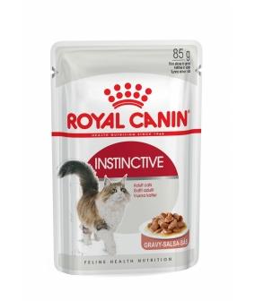Кусочки в соусе для кошек: 1–10 лет (Instinctive) 482001/10167548