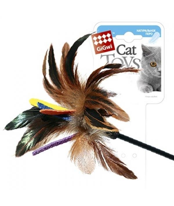 Игрушка для кошек Дразнилка на стеке цветная (75049)50141