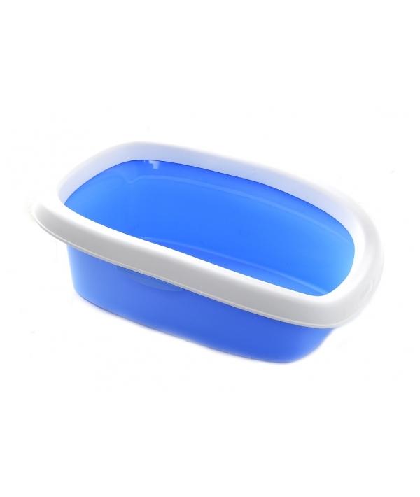 Туалет Sprint – 10 с рамкой, голубой, 31*43*14 (96458)