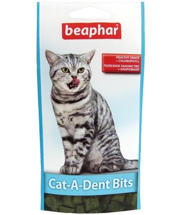 Подушечки для чистки зубов у кошек (Cat – a – Dent Bits), 75шт. (11406/11404)