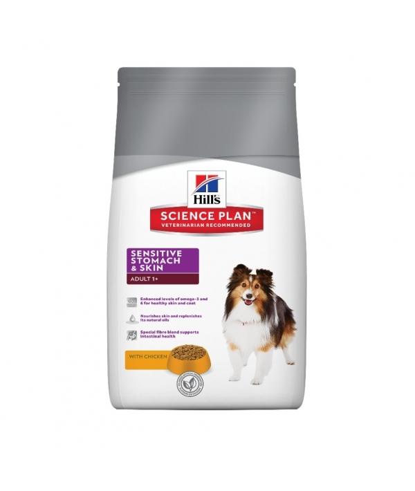 Для взрослых собак – улучшение пищеварения (Sensitive Stomach) 6061M