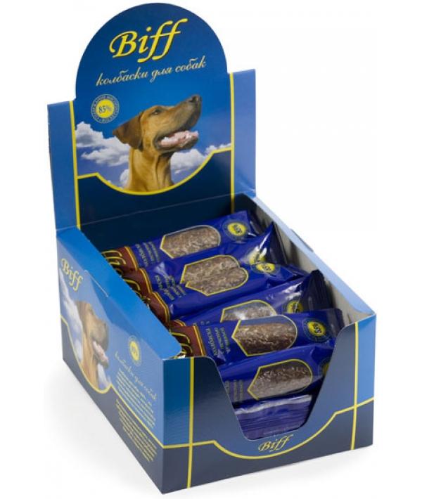 Колбаски Мини Biff с печенью говяжьей (30шт.) 5226