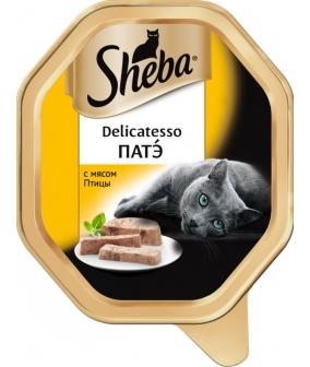 Консервы для кошек Delicatesso патэ с мясом птицы 10169411