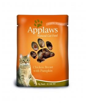 Паучи для Кошек с Курицей и Тыквой (Cat Chicken & Pumpkin pouch) 8001
