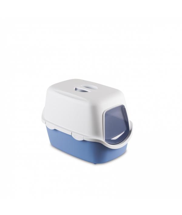 Туалет закрытый Cathy, голубой с угольным фильтром, 56*40*40см (97585)
