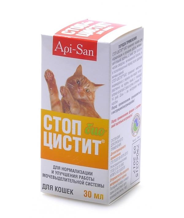 Стоп – Цистит Био для кошек – лечение и профилактика МКБ, суспензия