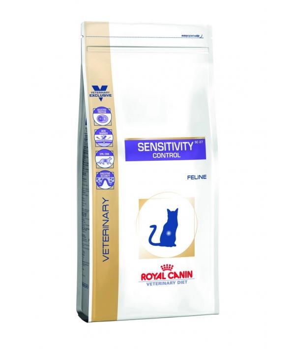 Для кошек при пищевой аллергии – утка (Sensitivity control SC27) 736004