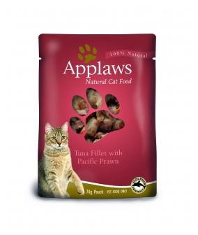 Паучи для Кошек с Тунцом и королевскими креветками (Cat Tuna & Pacifc Prawn pouch) 8008