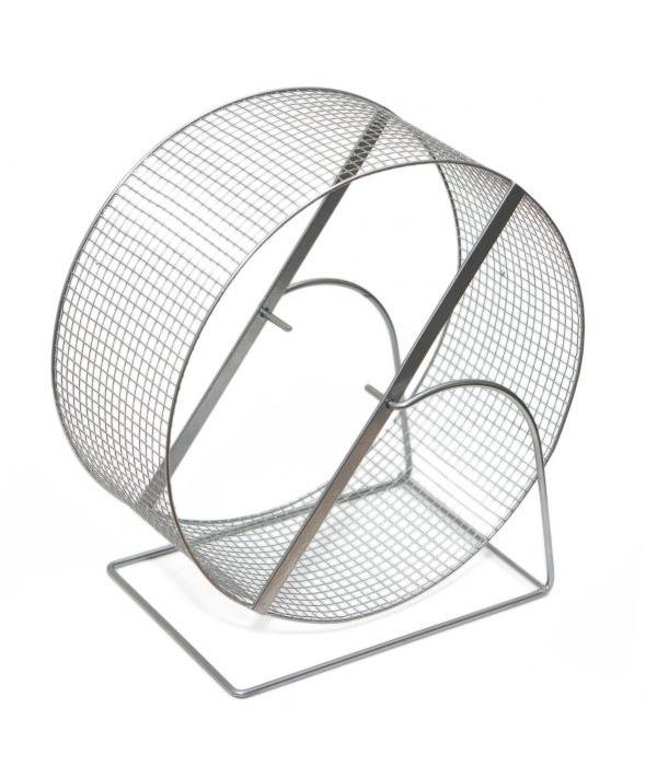 Колесо д/грызунов, метал.сетка, 25см (3153)