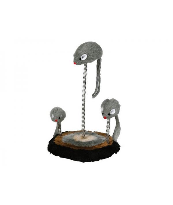 Игрушка д/кошек Мышь на подставке – 4070