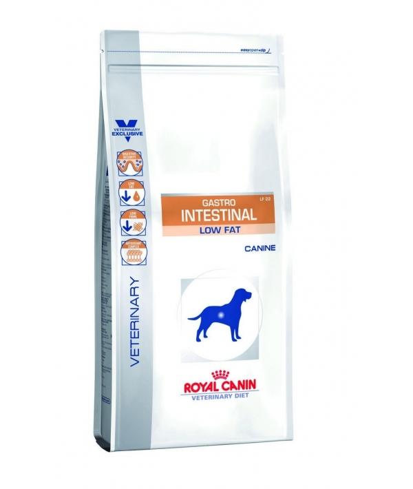 Диета с ограниченным содержанием жиров для собак при нарушении пищеварения (Gastro Intestinal Low Fat LF22) 624015/ 624115