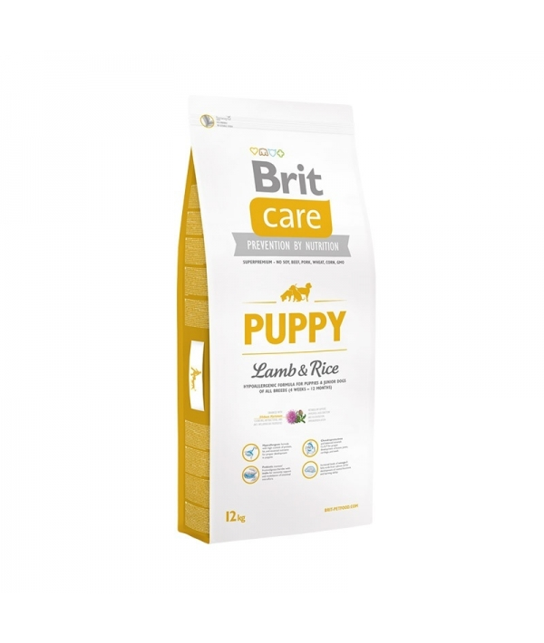 Care для щенков до 25кг с ягненком и рисом (Puppy All Breed Lamb&Rice)