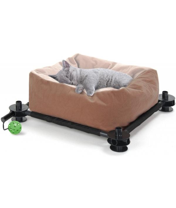 """Лежак для кошек: Сладкий сон. """"Slumber Bed"""": 15*45*45см (sp0318)"""