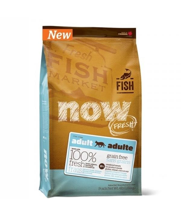 Беззерновой для Взрослых Кошек с Форелью и Лососем для чувств. пищеварения (Grain Free Fish Adult Recipe CF)30 – 19