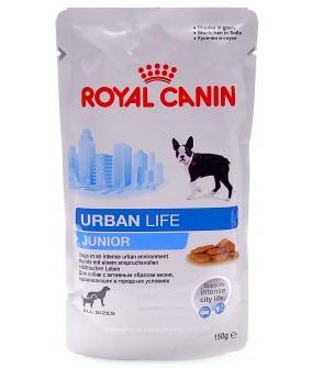 Паучи для щенков 2–10 мес., живущих в городской среде (Urban life Junior) 791001