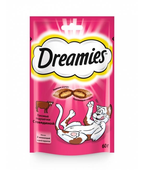 Лакомые подушечки для кошек с говядиной, 7555
