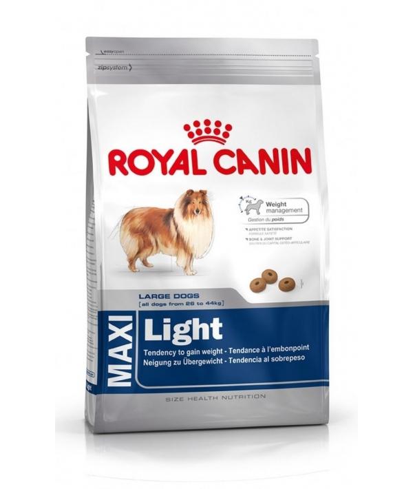 Для крупных cобак низкокалорийный с 15 мес. (Maxi Light Weight Care) 334150/389150