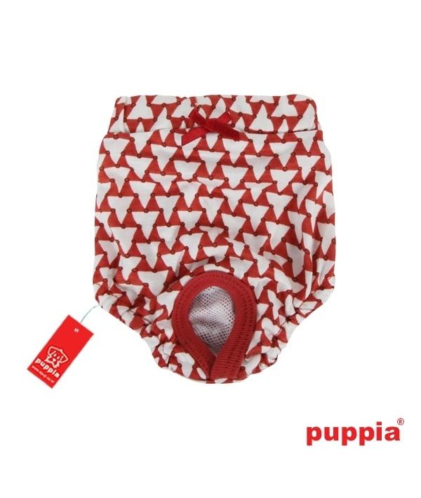 """Трусы для собак с геометрическим узором """"Мартина"""", оранжевый, размер M (длина 17 см) (MARTINA SANITARY PANTY/ORANGE/M) PAOA – PT1229 – OD – M"""