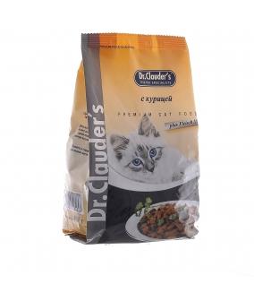 Для кошек с курицей – Сухой корм
