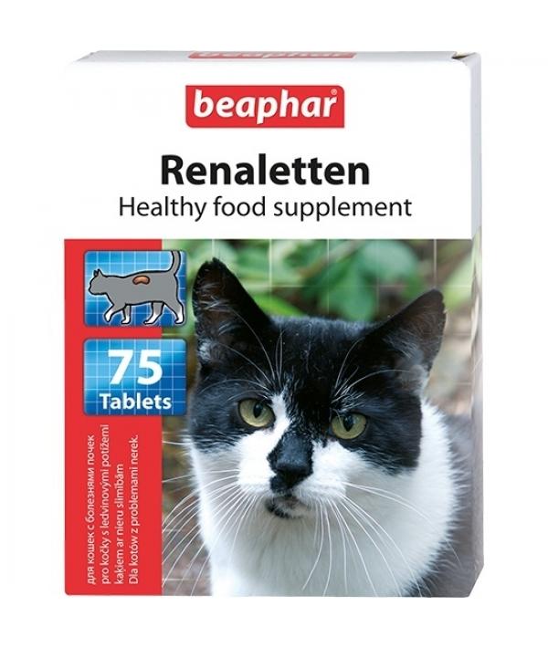 Витамины д/кошек с проблемными почками (Renaletten), 75шт. (10660)
