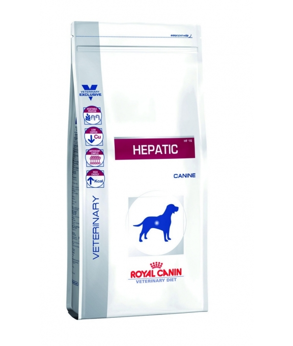 Для собак при заболеваниях печени (Hepatic HF16) 606060/ 606160