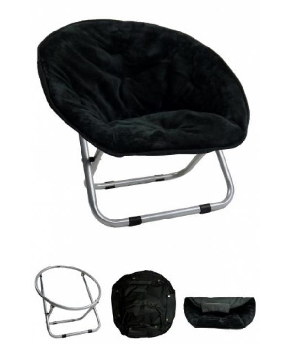 "Стул ""VIP ложе"", 50*50*40, черный (Relax chair) 260003"