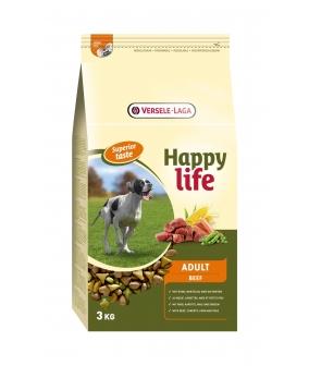 Для собак с говядиной (Happy life Adult Beef) 431103