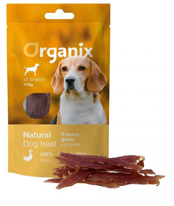 Лакомство для собак «Утиное филе» (100% мясо) (Duck fillet/ whole) 100 гр