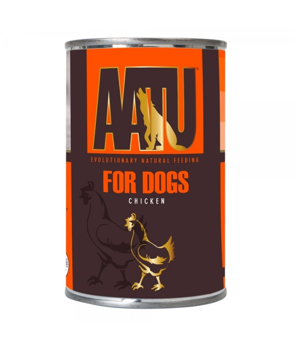 Консервы для собак Курица (AATU CHICKEN) WAC400