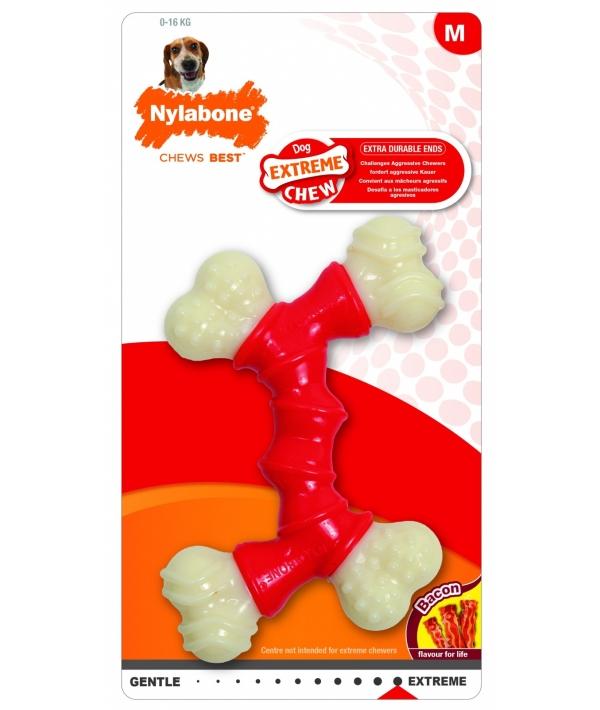 Двойная косточка, экстра – жесткая, М (Extreme Chew Double Bone) 982649EU