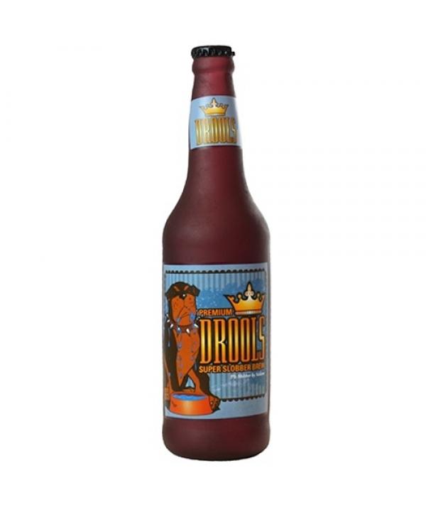 """Виниловая игрушка – пищалка для собак Бутылка пива """"Слюнопускание"""" (Beer Bottle Drools) SS – BB – DR"""